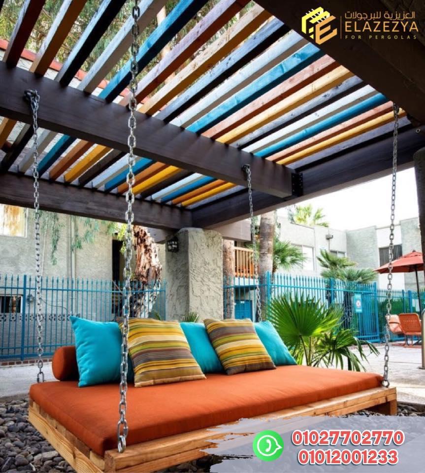 ارخص انواع برجولات خشبية واسور وغرف بأفضل انواع الخشب في مصر بالضمان 01027702770 108108027_285969076160213_6775058338167868991_n