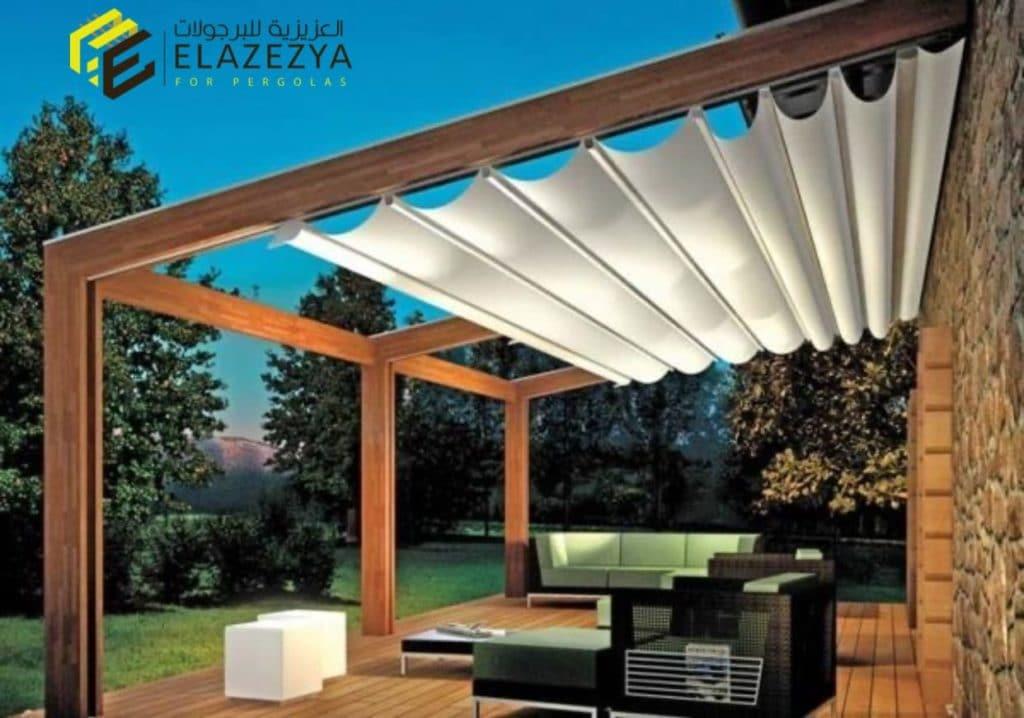 اشكال برجولات خشبية وتقفيلات غرف خشب بأفضل انواع الخشب في مصر بالضمان 01027702770 2B9811AE-3AE1-4FB5-83CA-CB1FED301BC9-1024x718