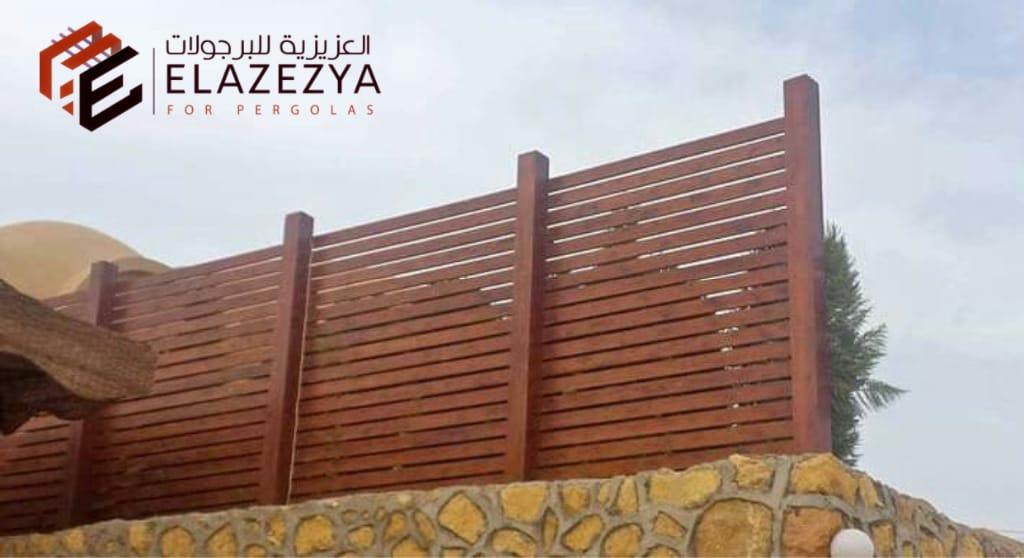 سعر تركيب اسوار حدائق خشبية / افضل سياج خارجية في مصر