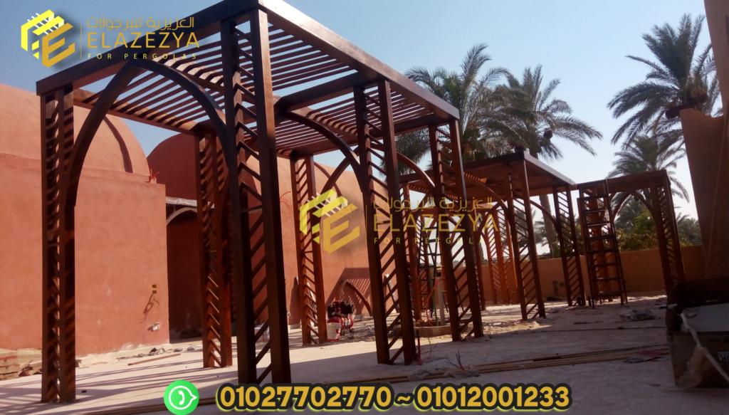 للبيع تندات خشبية للاسطح / مظلات بتصميمات جديدة في مصر 2020