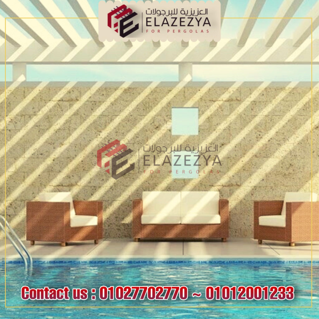 برجولات في مصر و 8 طرق لتغطية حمام السباحة الخاص بك بأفكار جديدة