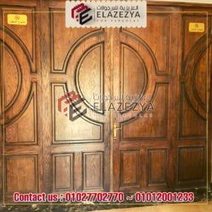 اسعار الابواب الخشبية لشركة العزيزية في مصر 2020 بالمقاسات
