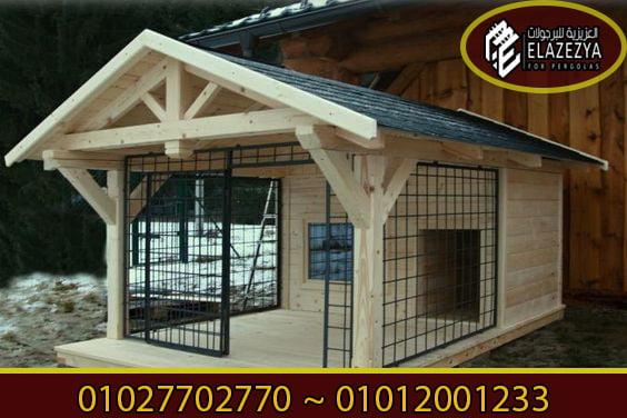 بيوت كلاب خشب جاهزة للبيع