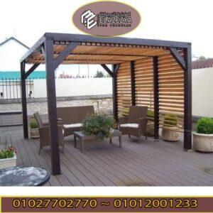 أفضل البرجولات الخشبية في مصر لجمال حديقتك