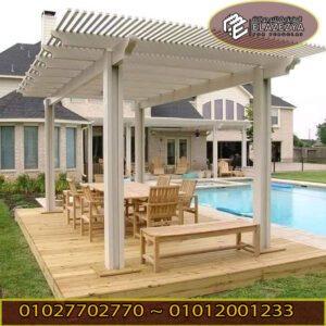 ديكورات مظلات | برجولات | تندات خشب
