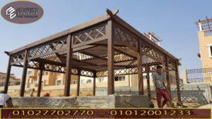 افكار جديدة لتصميمات برجولة خشب للأسطح بسعر مناسب