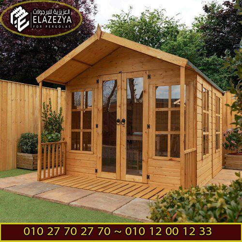 تنفيذ غرف خشب بشكل احترافي